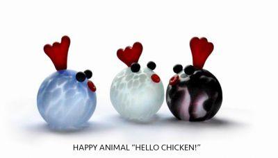 "Happy Animal ""Hello Chicken!"""
