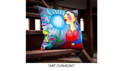 """ART CUSHION!"""