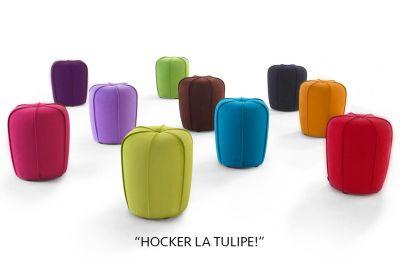 """Hocker """"La Tulipe!"""""""