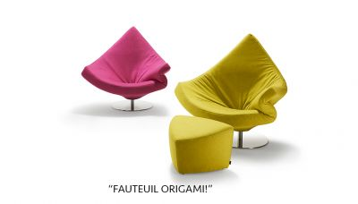 """Fauteuil """"Origami!"""""""