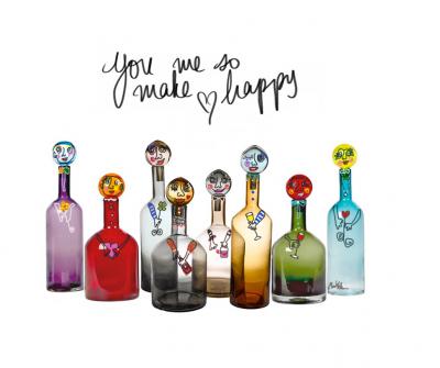"""Happy Bottles!"" by Maureen Knobben"
