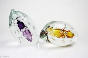 "Kristal Kegel ""Gold & Lilac"""